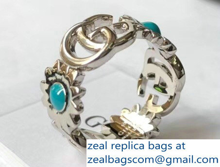 Gucci Double G Flower Ring 527394 2018