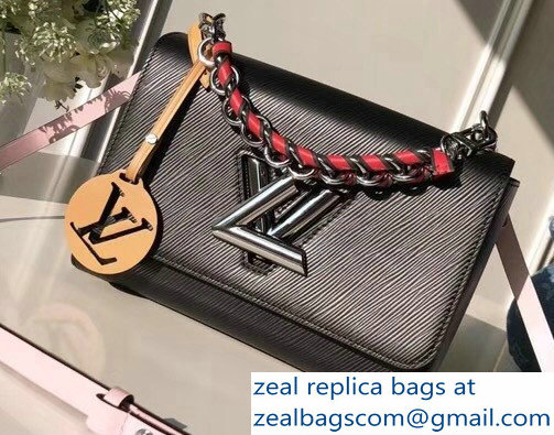 Louis Vuitton Epi Charm Twist MM Bag M52503 Noir 2018