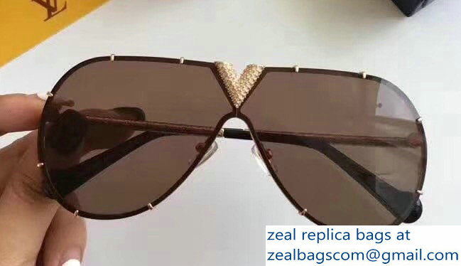 Louis Vuitton LV Drive Strass Sunglasses 05 2018