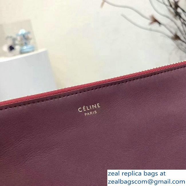 46f74083effa Celine Trio Crossbody Small Bag Burgundy   www.zealbag.ru