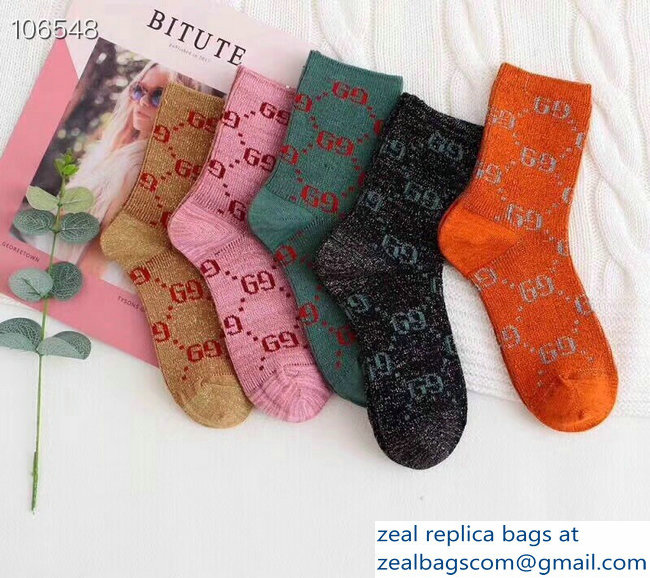 Gucci Cotton Socks G21