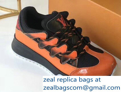 Louis Vuitton Zig Zag Sneakers Orange 2018