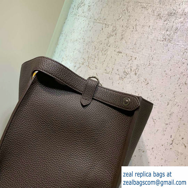 90243b97d5fe Fendi Roman Leather Peekaboo X-Lite Regular Tote Bag Coffee 2019 ...