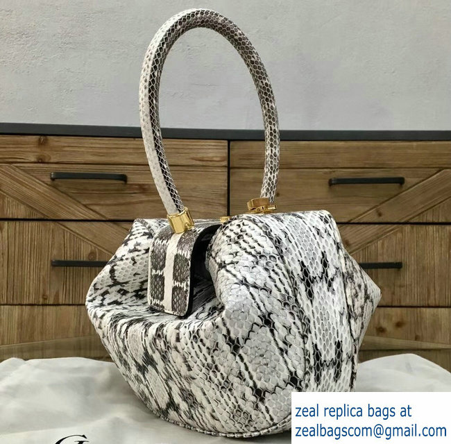 Gabriela Hearst Nina Large Bag Python - Click Image to Close