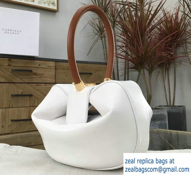 Gabriela Hearst Nina Large Bag White