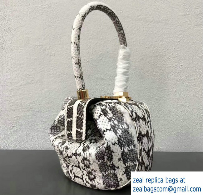 Gabriela Hearst Nina Small Bag Python