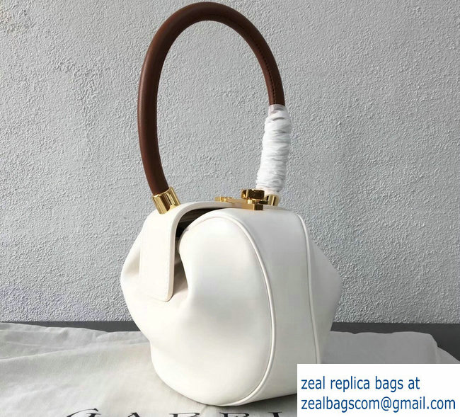 Gabriela Hearst Nina Small Bag White