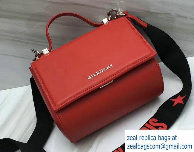 Givenchy Pandora Box Mini Bag Red Logo Strap 2018   www.zealbag.ru 6751a8a201a25
