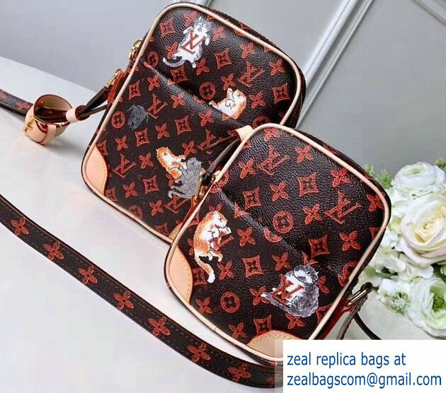 Louis Vuitton Catogram Monogram Canvas Paname Set Bag M44399 Brown 2018