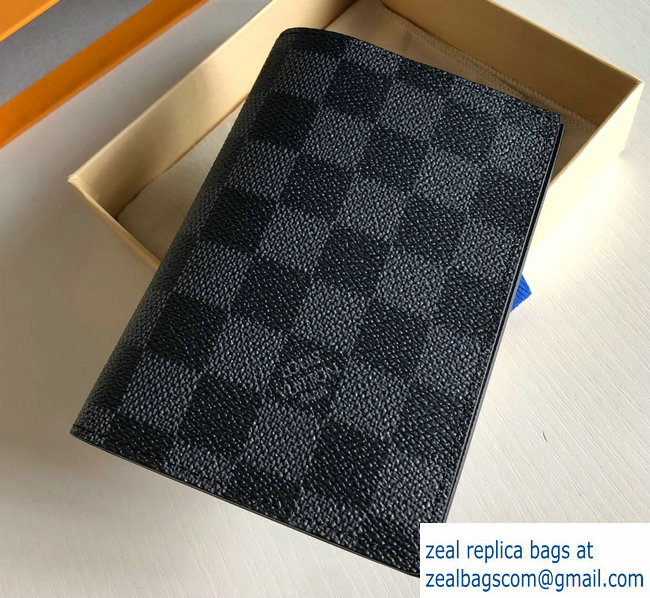 Louis Vuitton Damier Graphite Canvas Passport Cover N64411