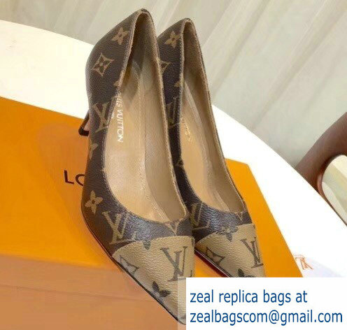 Louis Vuitton Heel 6.5cm Fetish Pumps Monogram Canvas/Reverse