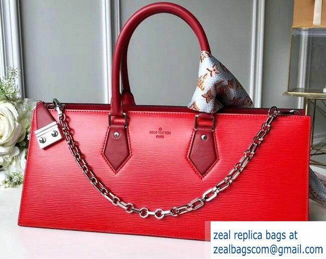 Louis Vuitton Sac Tricot Bag Epi Leather Red M52805 2019