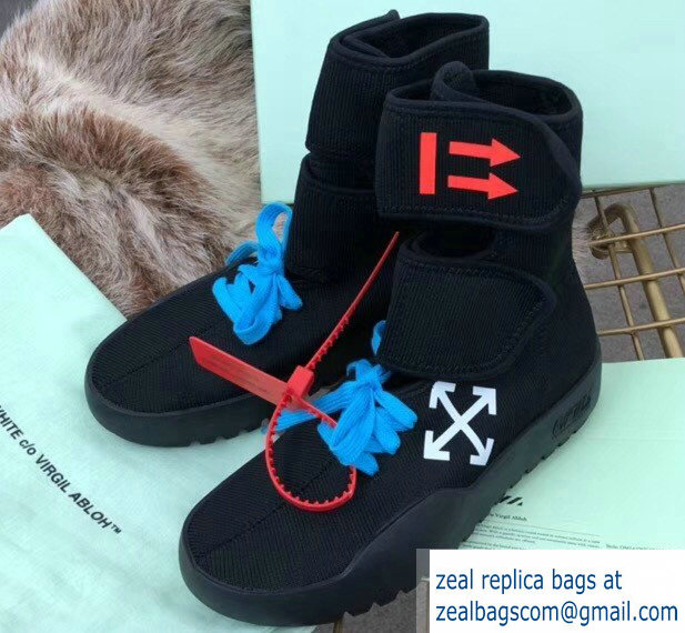 Off-white Sneakers Boots Black 2018