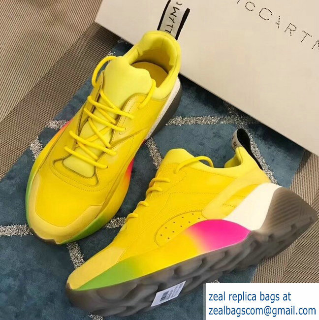 Stella McCartney Eclypse Sneakers Yellow Spring 2019