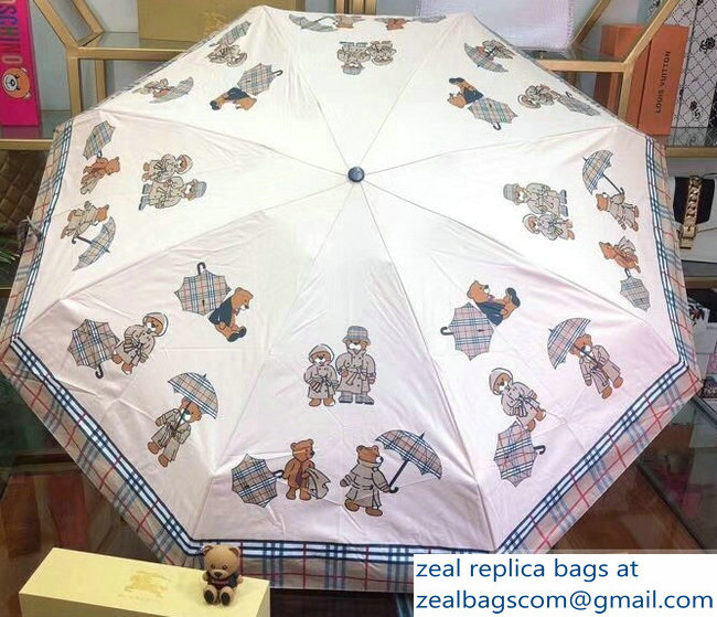 Burberry Bear Print Umbrella