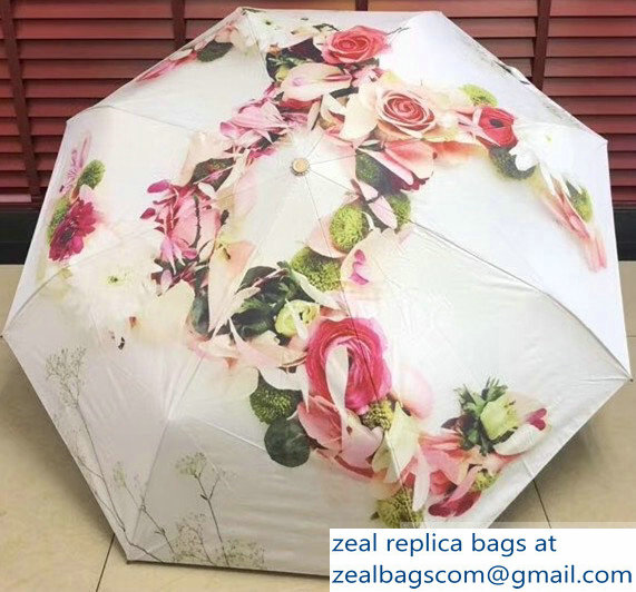 Chanel Print Umbrella CH05