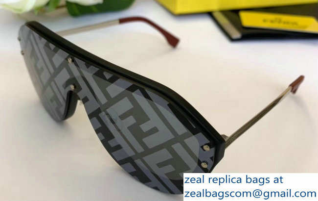 Fendi FABULOUS Shield Sunglasses 06 2019