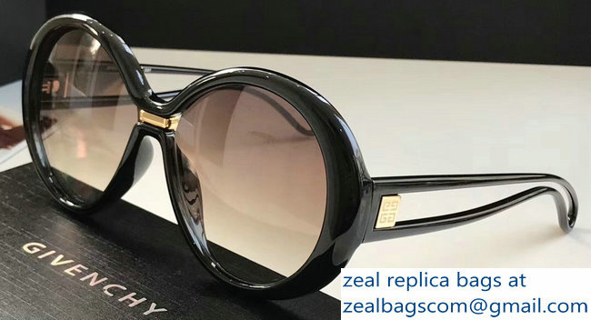 Givenchy Silhouette Oversized Round Sunglasses 04 2019