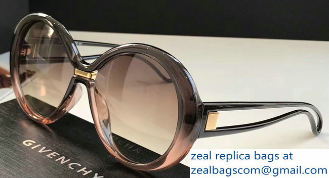 Givenchy Silhouette Oversized Round Sunglasses 07 2019