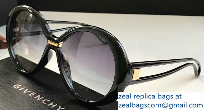 Givenchy Silhouette Oversized Round Sunglasses 08 2019
