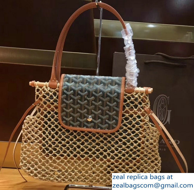 Goyard Aligre Tote Bag Brown 2019