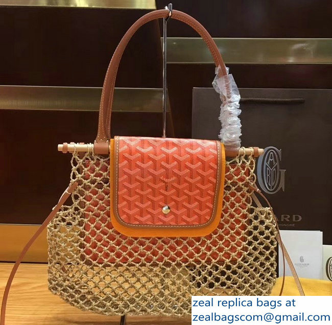 Goyard Aligre Tote Bag Orange 2019
