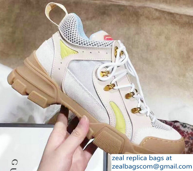 Gucci Flashtrek Lovers Sneakers Creamy 2019