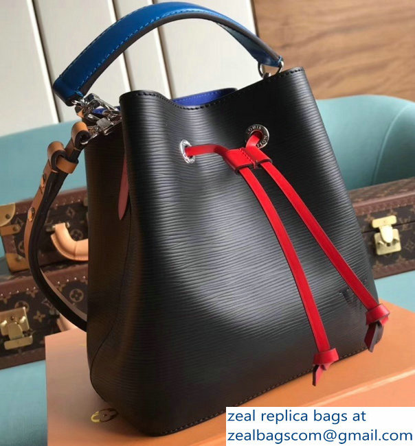 Louis Vuitton Epi Leather NeoNoe BB Bucket Bag M52853 Black