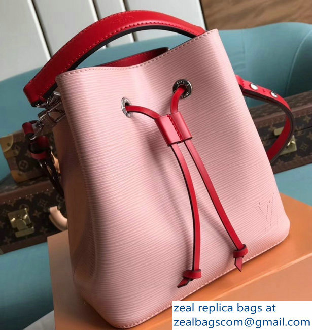 Louis Vuitton Epi Leather NeoNoe BB Bucket Bag M53609 Rose Ballerine