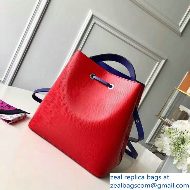 Louis Vuitton Epi Leather NeoNoe Bucket Bag M54365 Coquelicot