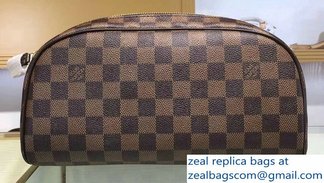 Louis Vuitton King Size Toiletry 28 Bag N47527 Damier Ebene Canvas