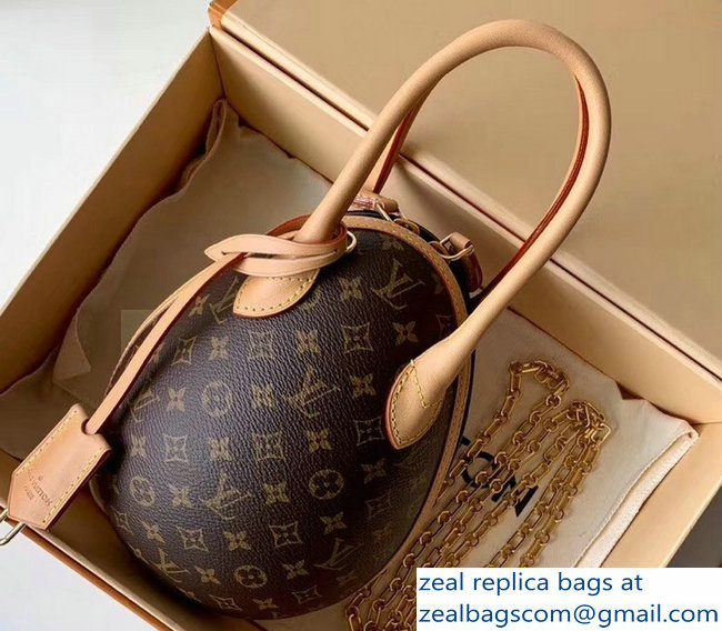 Louis Vuitton Monogram Canvas LV Egg Bag M44587 2019