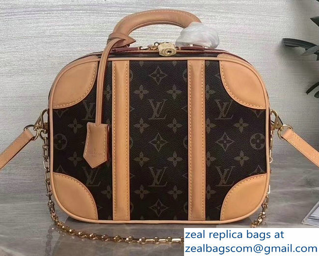 Louis Vuitton Monogram Canvas Mini Luggage Bag M44581 2019
