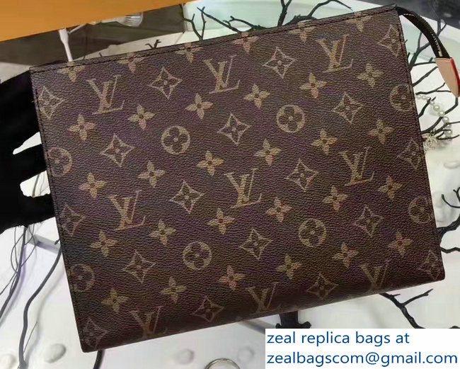 Louis Vuitton Monogram Canvas Toiletry Pouch 26 Bag M47542