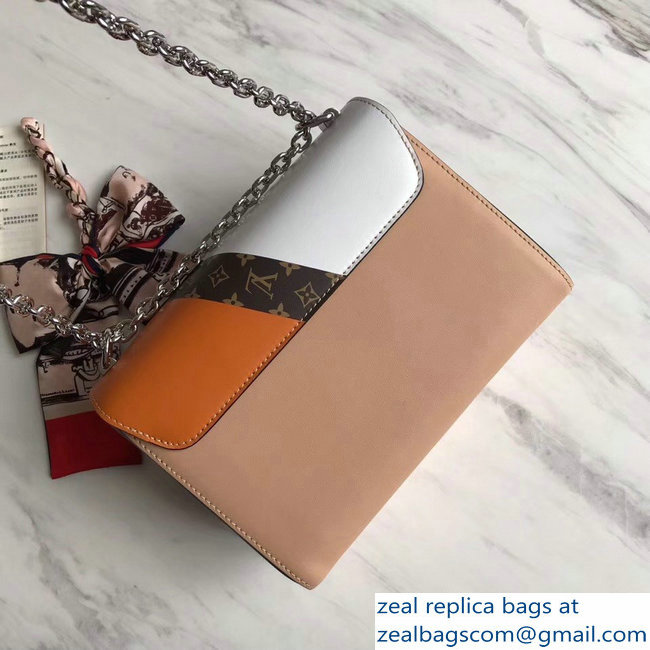 Louis Vuitton Twist MM Bag M50280 Monogram Canvas/Apricot 2019
