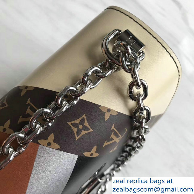 Louis Vuitton Twist MM Bag M50280 Monogram Canvas/Black 2019