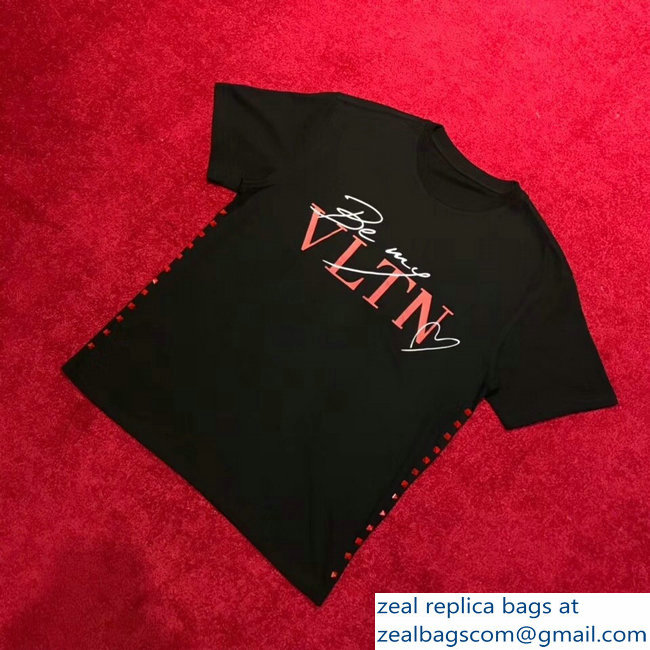 Valentino Be My VLTN T-shirt Black 2019