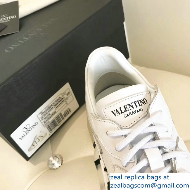 Valentino Bounce Low-top Sneakers VLTN White 2019