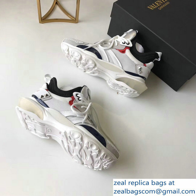 Valentino Bounce Low-top Sneakers White 2019