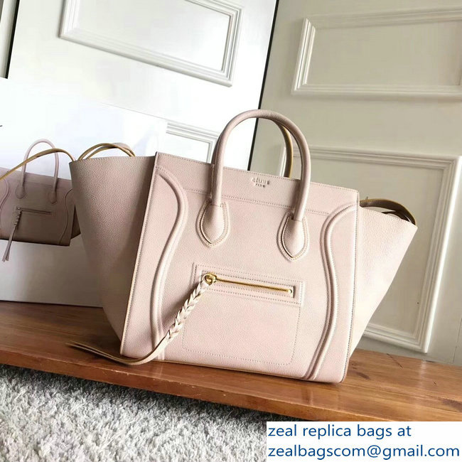 celine grained calfskin phantom luggage beige/yellow