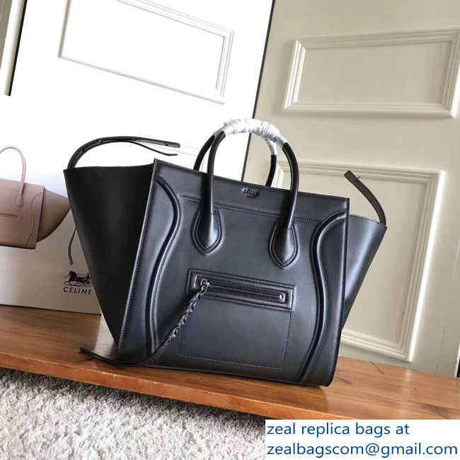 celine smooth calfskin phantom luggage black