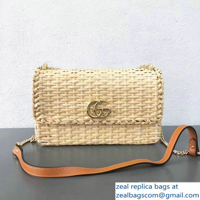 gucci wicker large bag 2019