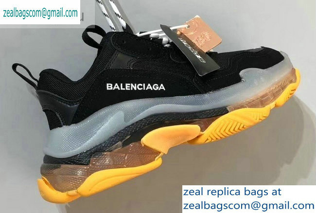 Balenciaga Triple S Clear Sole Trainers Multimaterial Sneakers 01 2019