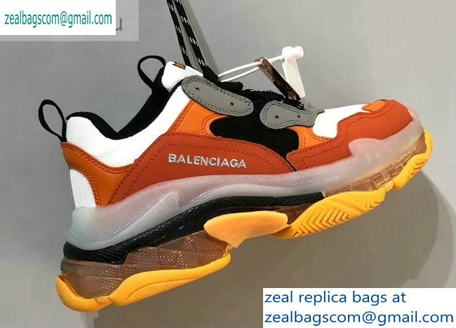 Balenciaga Triple S Clear Sole Trainers Multimaterial Sneakers 05 2019