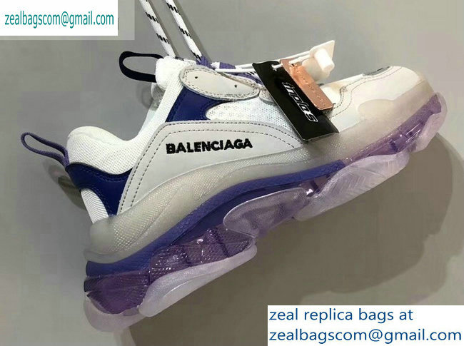 Balenciaga Triple S Clear Sole Trainers Multimaterial Sneakers 09 2019