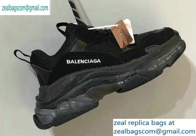 Balenciaga Triple S Clear Sole Trainers Multimaterial Sneakers 10 2019