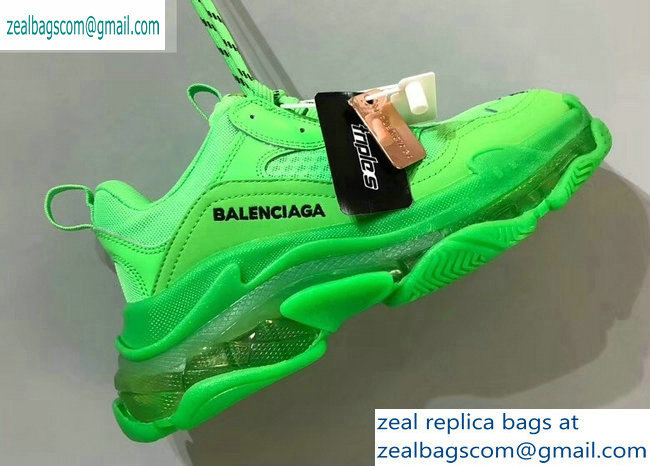 Balenciaga Triple S Clear Sole Trainers Multimaterial Sneakers 14 2019