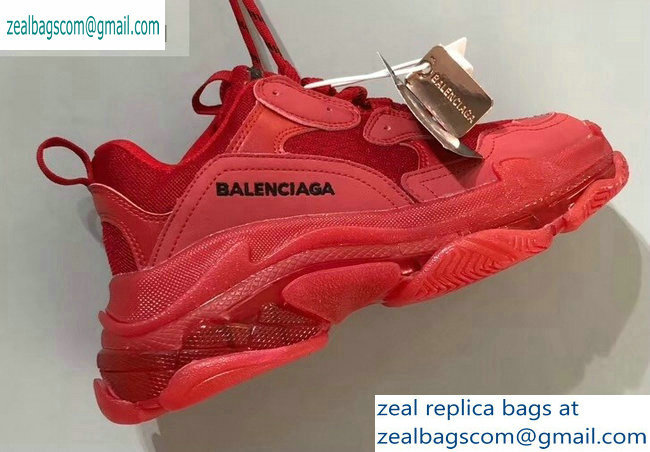 Balenciaga Triple S Clear Sole Trainers Multimaterial Sneakers 15 2019
