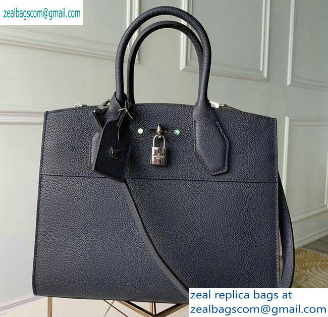 Louis Vuitton City Steamer MM Tote Bag M53015 Noir