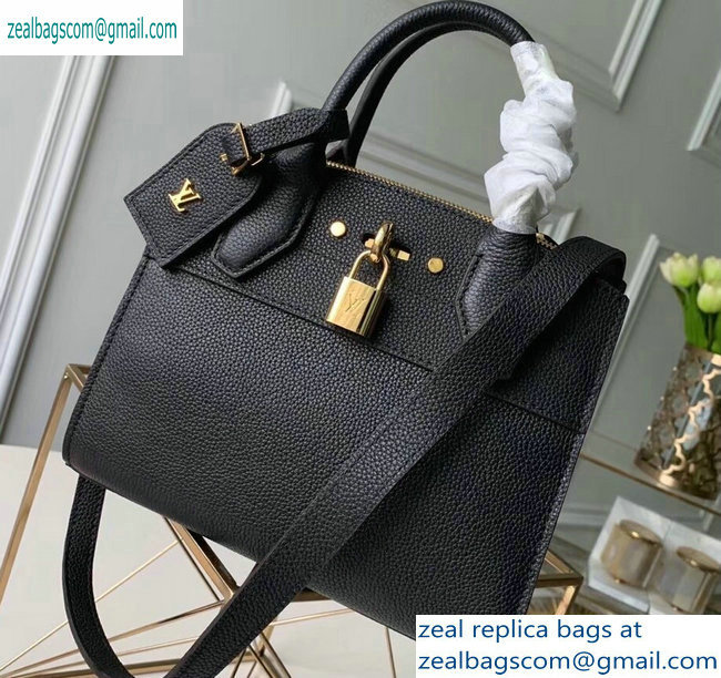 Louis Vuitton City Steamer Mini Tote Bag Black